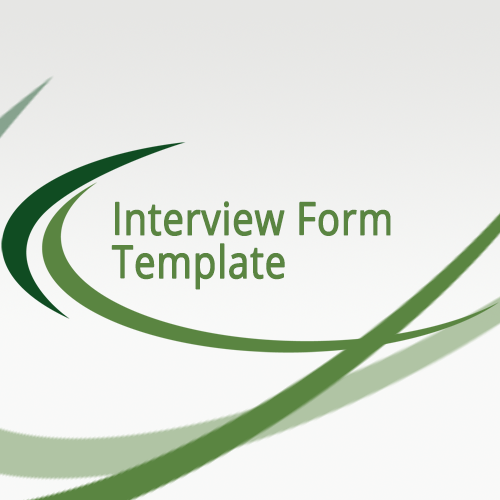 interview form template human resources plus
