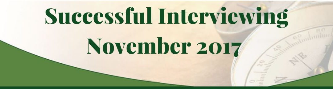 Interviewing – This Month in HR News